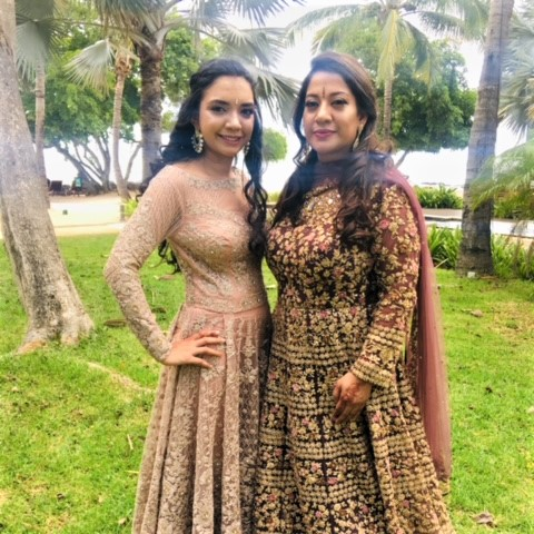 Moushumi Maharaj & Daughter